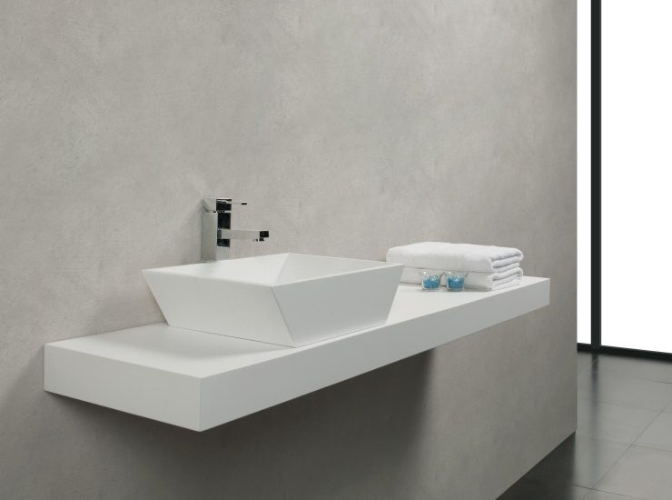 Lavabo BSurface Solid Surface Completo
